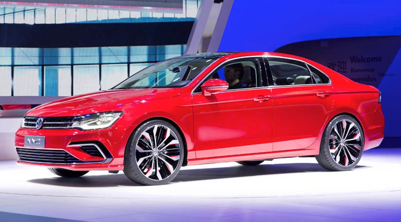 Vw New Midsize Coupe 2014 First Official Pictures Car Magazine