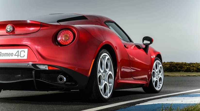 alfa romeo goes rear-drive; eight new cars2018 including 4c