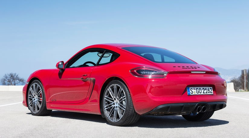 advertisement - Porsche Cayman Gts