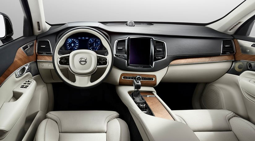 Volvo Xc90 Cabin The New 2017 One