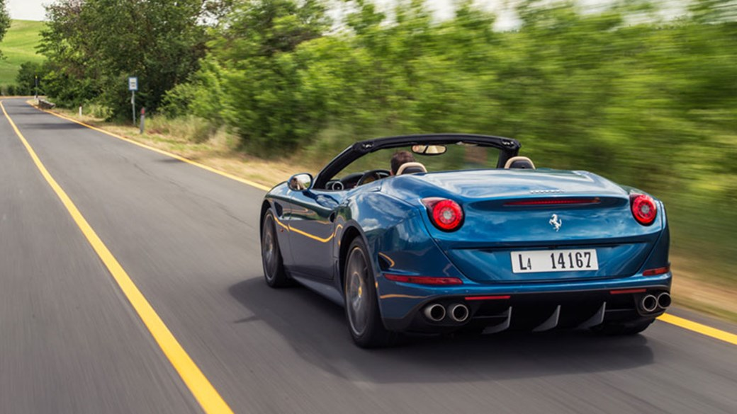 CAR Reviews The New Ferrari California T