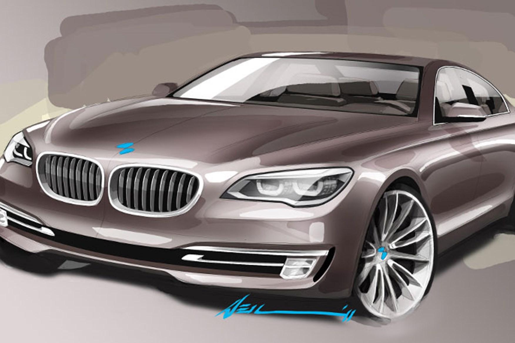 Bon ... BMW 7 Series Design Sketch (NB The Current Model!)