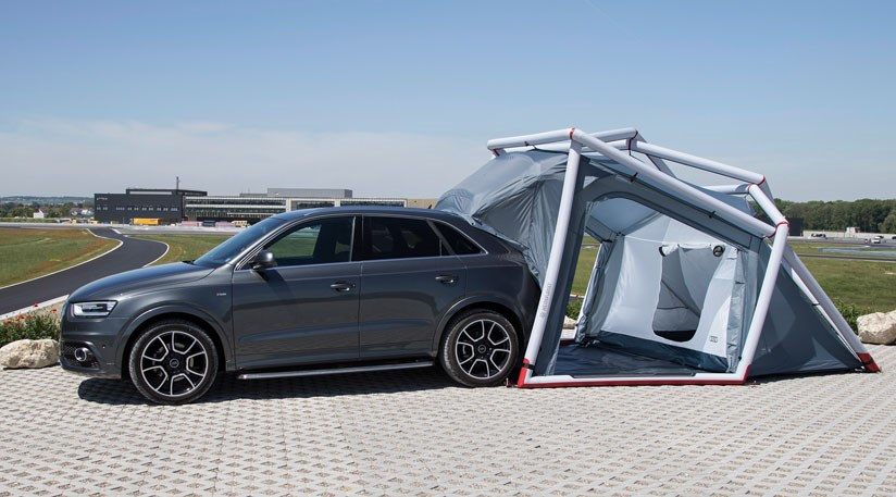 Audi Q3 Pop Up Tent 2014 Perfect For A Murder Mystery