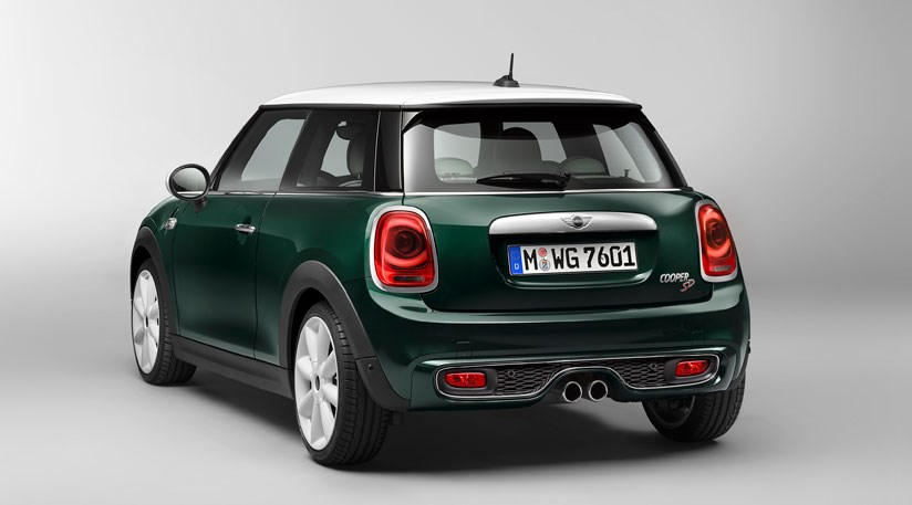 Mini Cooper Sd Enormous Rear Lamps Mark Out The Mk3