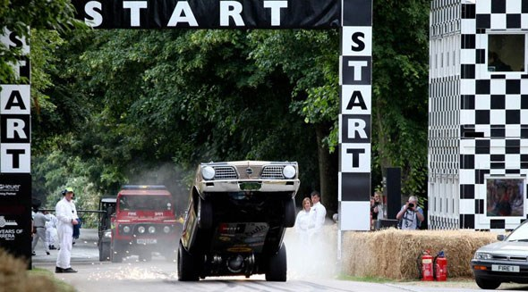 Goodwood Festival of Speed preview: the start line of the hillclimb
