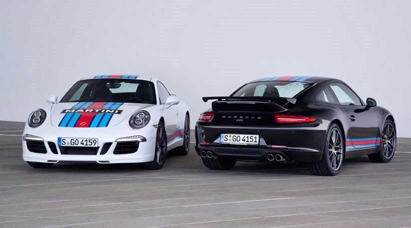 the martini racing edition is available only in black or white