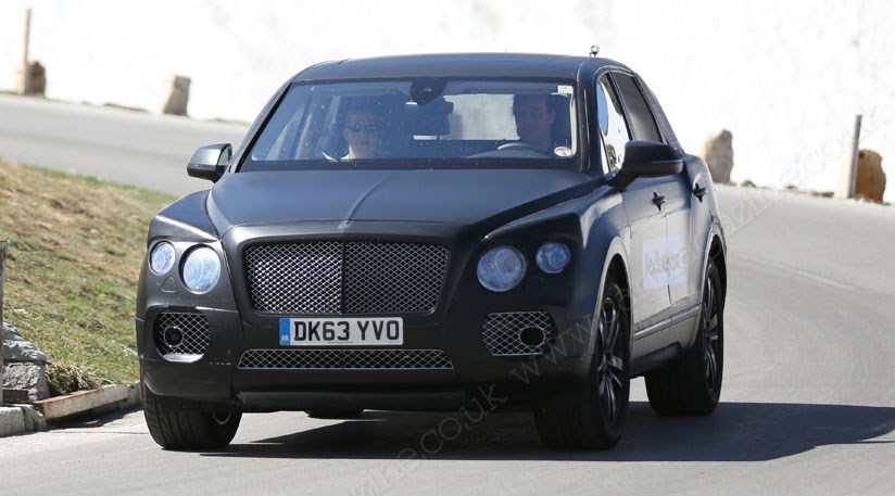 bentley suv 2016 new spy photos of poshest 4x4 yet by car magazine. Black Bedroom Furniture Sets. Home Design Ideas