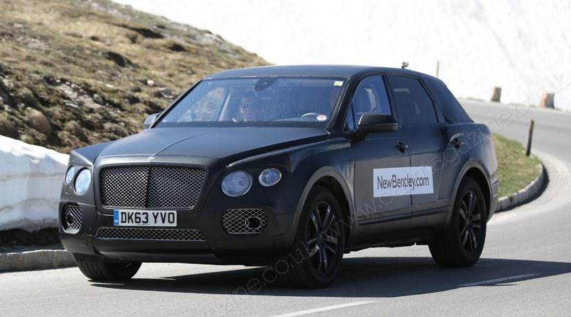 Bentley Suv New Spy Photos Of Poshest Yet By Car Magazine