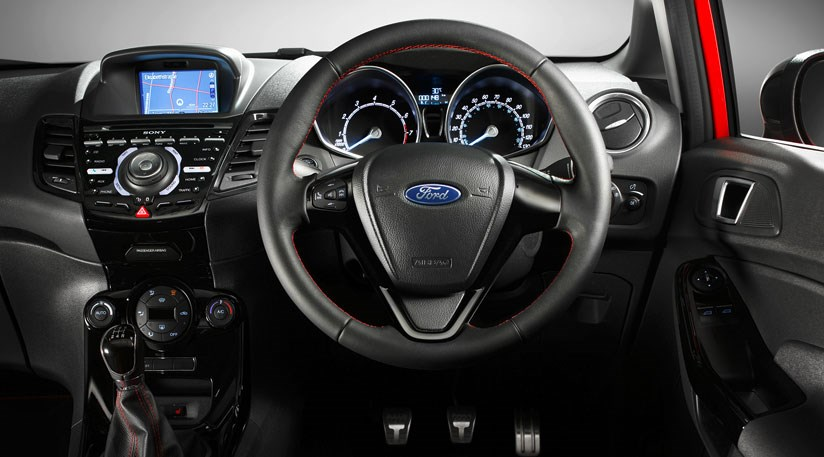Ford Fiesta Zetec S Red And Black Editions 2014 Unveiled