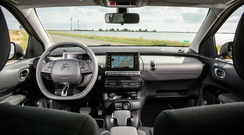 What about inside the cabin of the Citroen C4 Cactus?