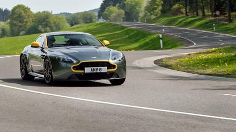 Aston Martin Vantage N430 Coupe 2014 Review Car Magazine