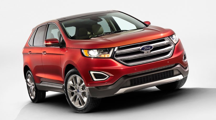 Ford Edge 2015 First Pictures Of New European Suv By