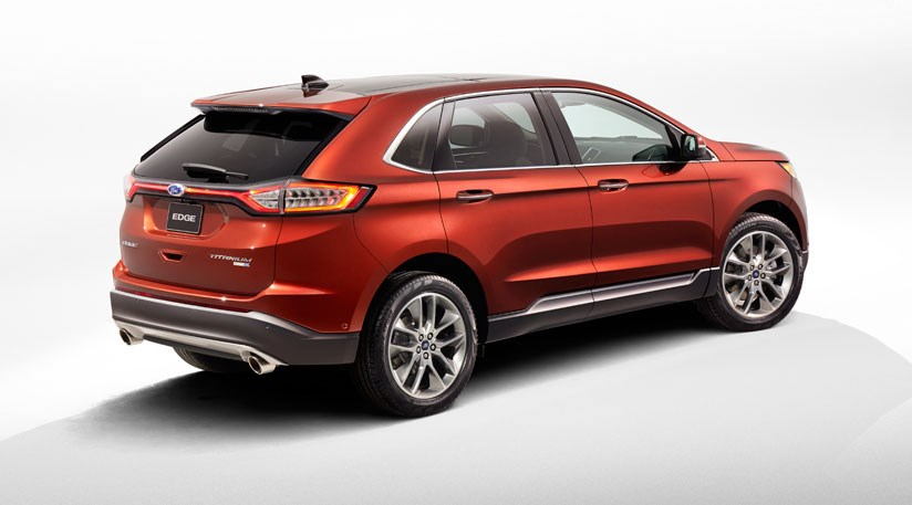 Ford Edge (2015) – first pictures of new European SUV by ...