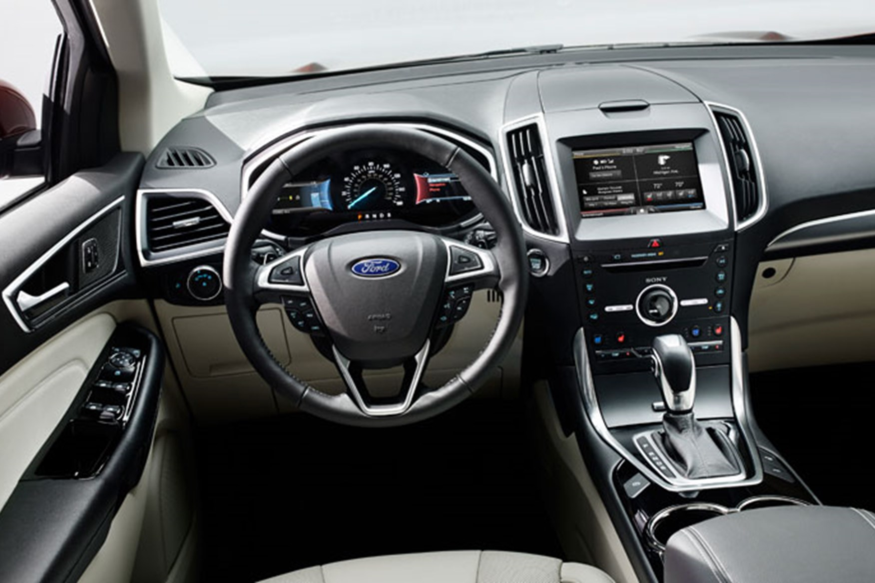 ... (2015) Lots Of Space Inside The Ford Edge, But Is The Quality A Match  For Audi?