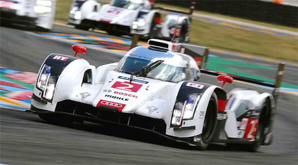 The Le Mans-winning Audi R18 e-tron