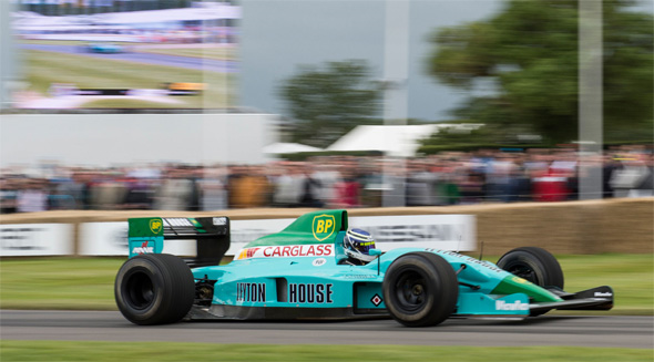 Many classic F1 cars will roar up the hill climb