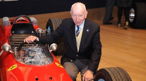 The great John Surtees will be piloting his Ferrari 158