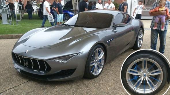 Maserati Alfieri at Goodwood