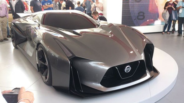 Nissan Concept 2020 Vision Gran Turismo at Festival of Speed