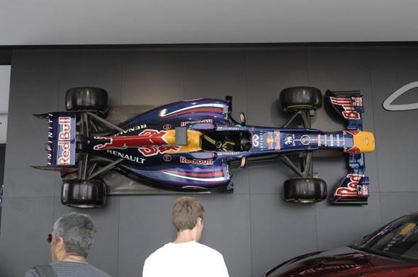 Red Bull's F1 racer