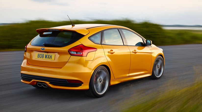 mid life revisions pep up rear of ford focus st