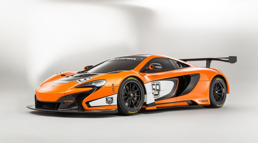 McLaren 650S GT3 race car at 2014 Festival of Speed | CAR Magazine
