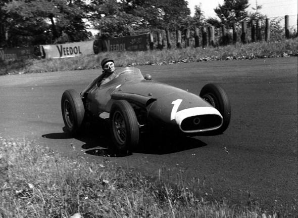 Juan Manuel Fangio won the wolrd championship in the Maserati 250F