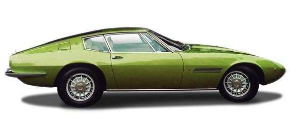 Maserati Ghibli named after a mediterranean wind