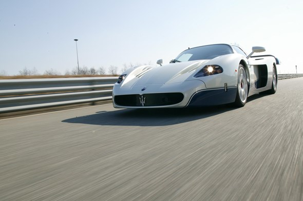 Based on the Enzo, the Maserati MC12 is priced at €600,000