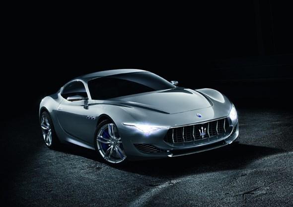 Homage to its creator, the Maserati Alfieri concept