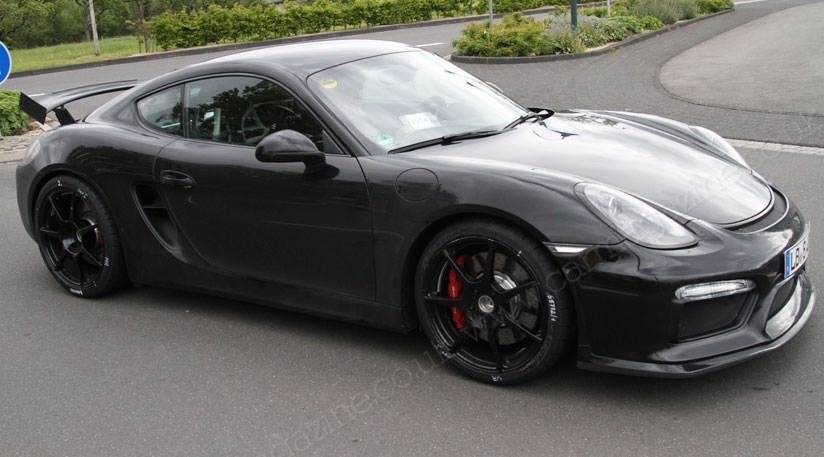 Porsche Cayman Gt4 2015 Hottest Cayman Yet Spied By Car