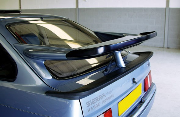 Whale-tail spoilers: perfect for al fresco tea parties AND downforce