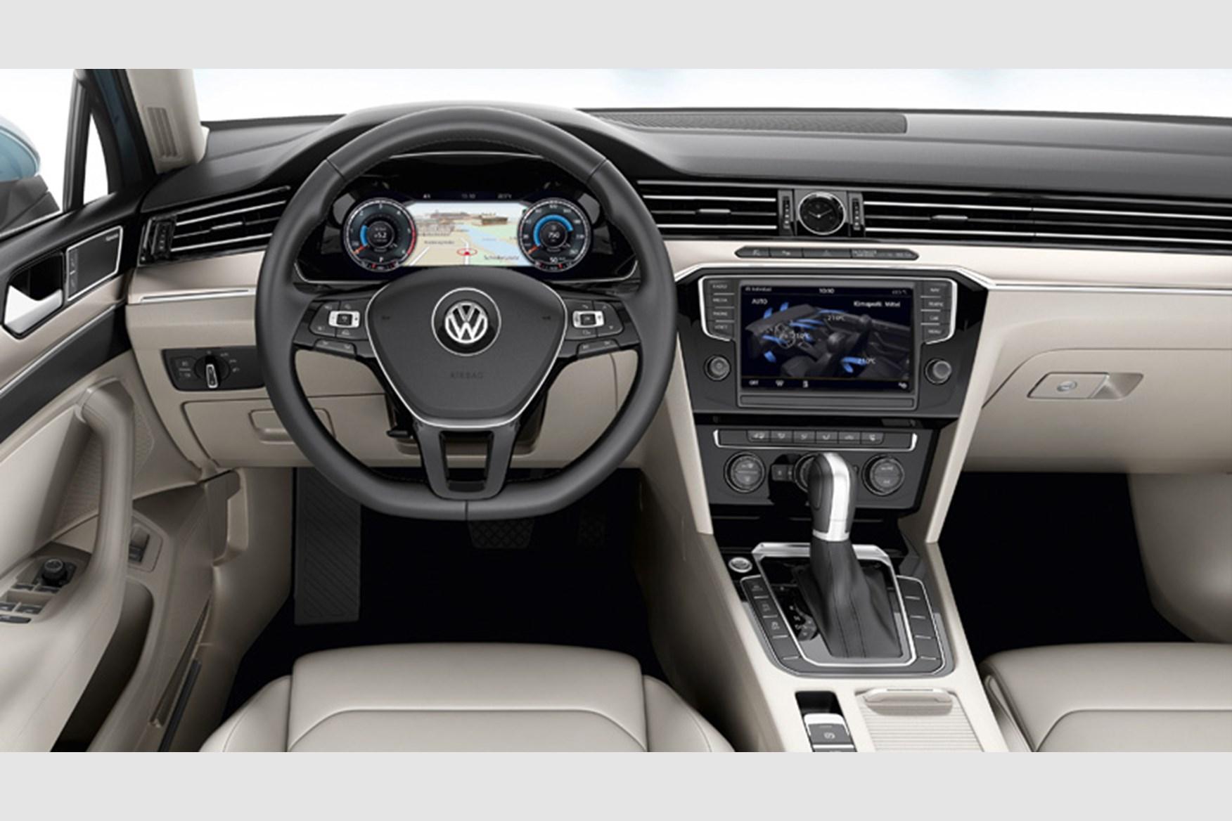 volkswagen passat 2014 interior. redesigned interior of 2014 vw passat volkswagen s