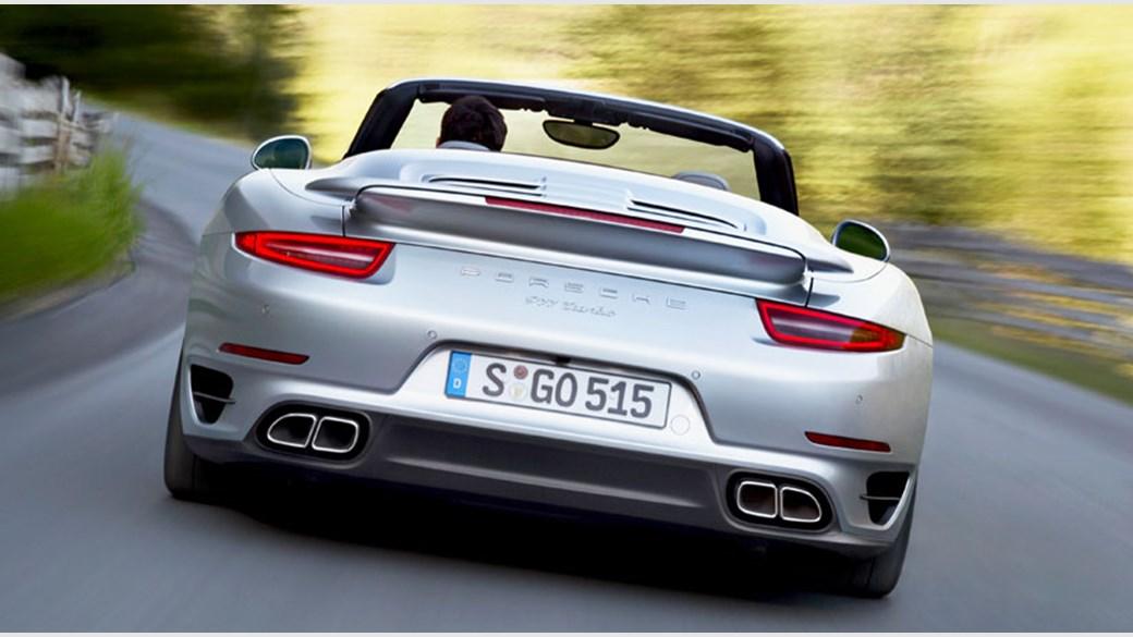 Porsche 911 Turbo Cabriolet 2014 Review