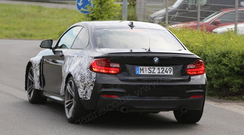 2016 - [BMW] M2 [F87] - Page 3 BMW_M2_SpyPhoto_02