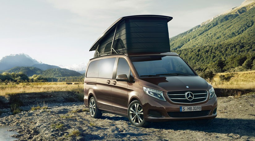Mercedes marco polo 2014 first pics of merc 39 s camper for Mercedes benz camper vans for sale