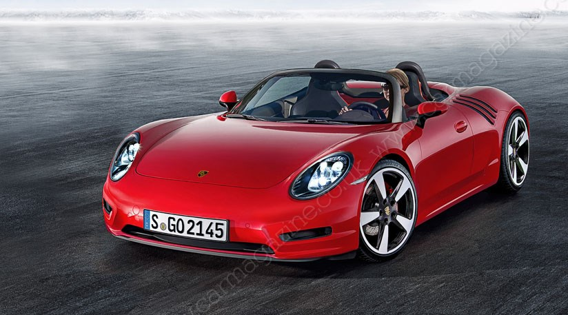 Porsche 718 roadster scooped: baby Boxster here in 2016