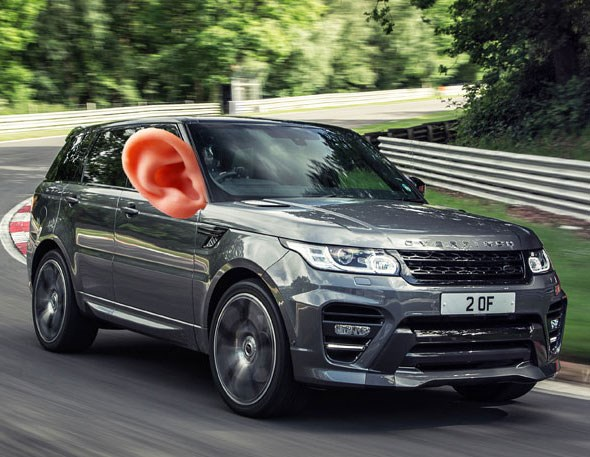 Shhh - the car's listening. New tech means JAguar and Land Rovers listen to your conversation to predict what's going to happen next