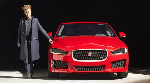 First sight of Jaguar XE and Emeli Sande