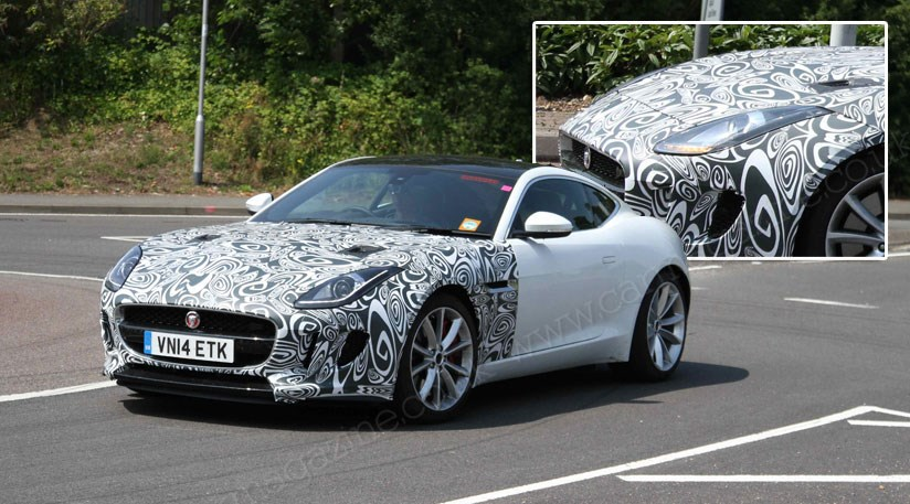 Jaguar Ftype Goes Fourwheel Drive In The Spyshots By CAR - All wheel drive jaguar