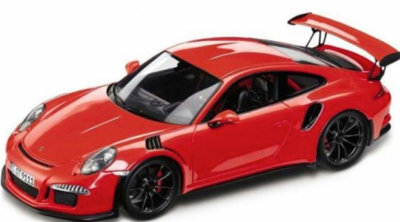 toy model of 2015 porsche gt3 rs appears to have been accurate judging by car magazines spy photos