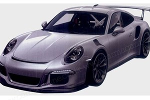 Porsche 911 GT3 RS (2015) spilled in CAR magazine's new patent filings