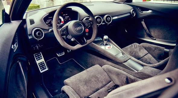Cabin of new Audi TT 420