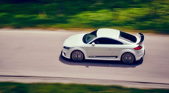 Georg Kacher drives the new Audi TT - exclusively for CAR magazine