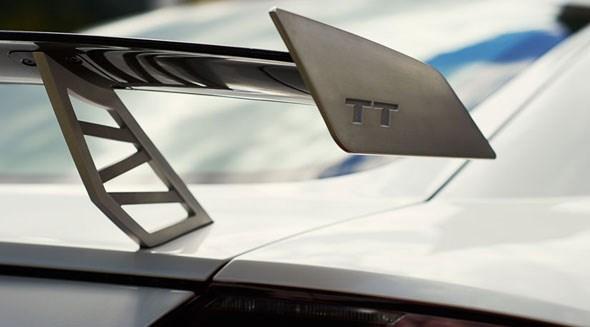 The spoiler of the Audi TT