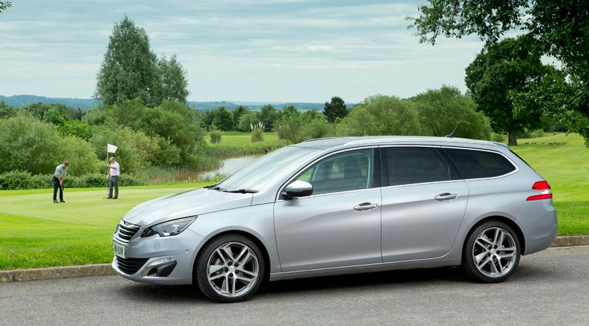 peugeot 308 sw 2 0 bluehdi 150 feline 2014 review by car magazine. Black Bedroom Furniture Sets. Home Design Ideas