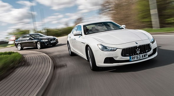 Maserati Ghibli vs BMW 5-series. Latin flair meets German efficiency