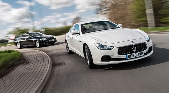 Maserati Ghibli vs BMW 5-series. Latin flair meets German efficiency