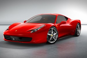 Ferrari 458 Italia gets turbo power at the 2015 Geneva motor show