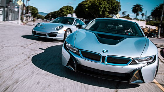 Bmw i8 Magazine Magazine Twin Test Bmw i8